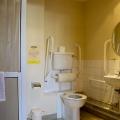 Easy-access bathroom