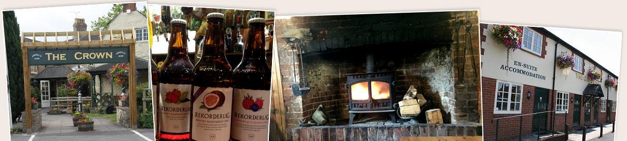 Snapshots of the Crown Inn, Stratton